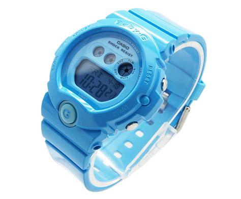 Casio Baby G Original Wanita Bg 6902 2b baby g bright blue bg 6902 2b