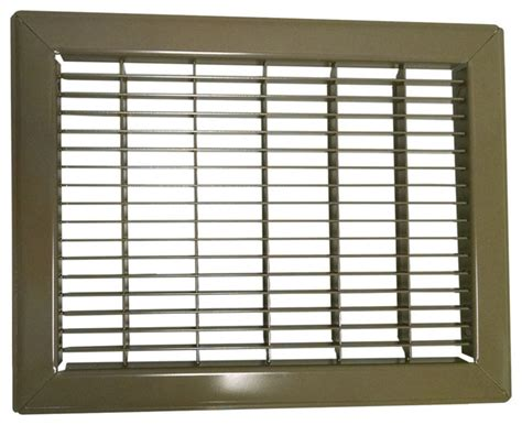 10 x 20 floor return air grille shop houzz continental industries heavy steel