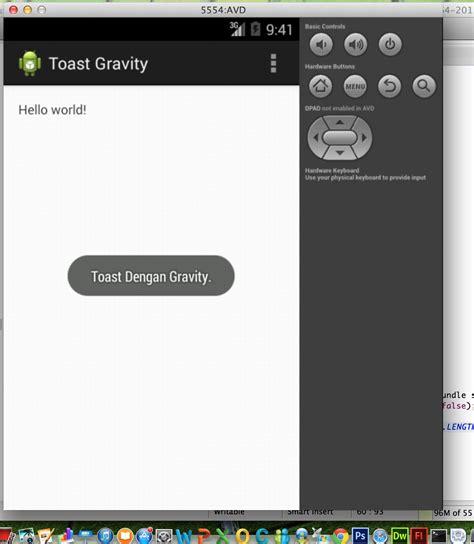 layoutinflater youtube membuat toast dengan gravity di android