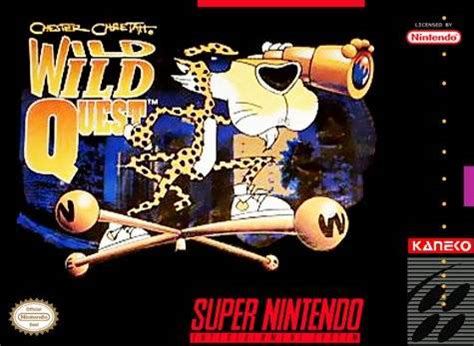 chester cheetah wild wild quest snes super nintendo