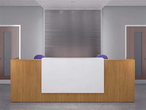 two person reception desk rapid office furniture birmingham delivery