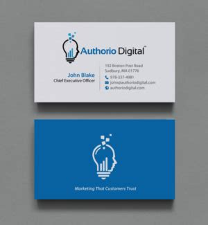 Business Card Template For Web Marketing Company by Business Cards Design For Marketing Professionals Image