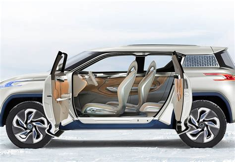 Urban Modern Interior Design by Nissan Terra Electric Suv Concept Nissan Usa