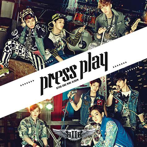 Cq Live Wow Retro Part Two by Mini Album Btob Press Play 2nd Mini Album