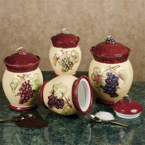 tuscan kitchen canister sets tuscan winery canister set 100 realistic future home