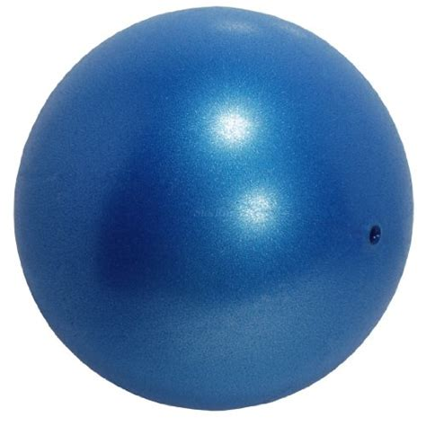 comfort balls 9 75 quot pilates soft over mini exercise ball with recessed
