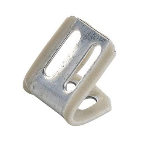 couch spring clips 4 hole spring clip with white plastic cover