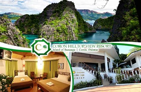coron hilltop view resorts accommodation promo