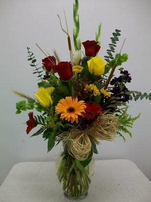 Fall Vase Arrangements by Pittsburg Tx Florist Bunn Flowers Gifts Formerly Don