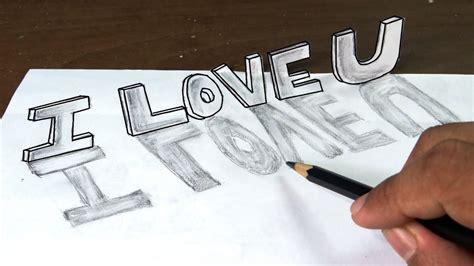 draw  love    graffiti letters