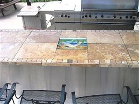 tile bar top outdoor patio