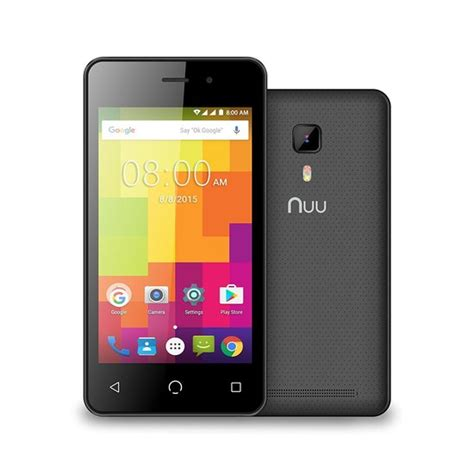 nuu a1 plus black nuu a1 unlocked android 5 1 mobile phone ijt direct