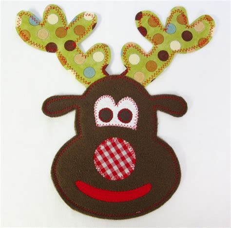 printable iron on appliques iron on christmas reindeer applique lynn palmertree flickr
