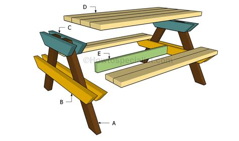 children s bench plans wood work how to build a kids picnic table plans pdf plans