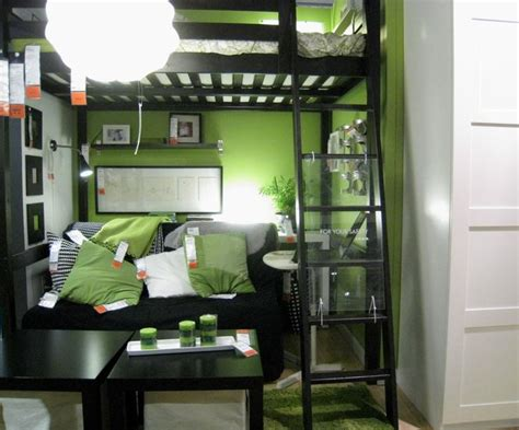 Loft Bed Living Room 17 best ideas about green boys bedrooms on
