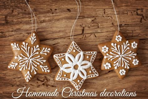 home made decorations homemade christmas decorations tots 100
