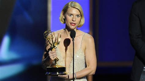 claire danes wins emmy breaking bad modern family michael douglas and claire