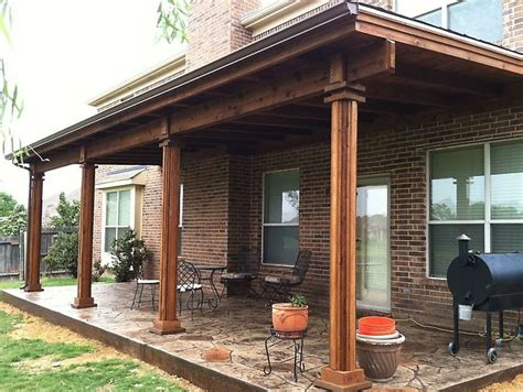 Patio Overhang Designs Patio Covers Dallas Covered Patio Patio Cover Patio Design Mckinney Tx