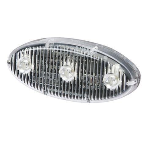 adhesive led light self adhesive led warning lights oval