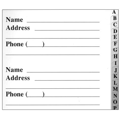 address book large print address book 8 5 x 11 size alphabetical with 300 spaces for names phone numbers addresses emails birthdays and more books maxiaids the big print address book