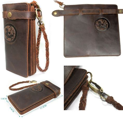 Handmade Leather Wallet Pattern - 17 best images about motorcycle wallet on