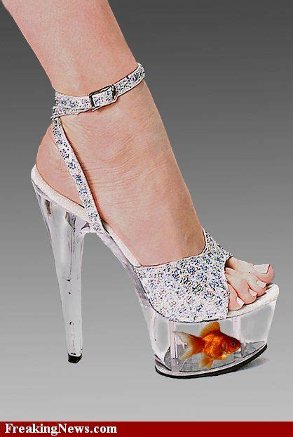glass slippers to wear glass shoes with goldfish bowl could you wear these my