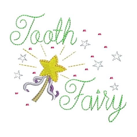 embroidery design tooth fairy tooth fairy wand embroidery designs machine embroidery