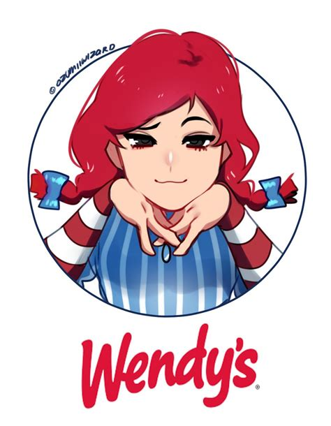wendy s for some reason i enjoy drawing her smug wendy s know