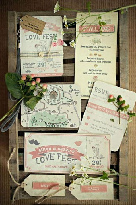 Hochzeitseinladung Festival by 51 Originelle Designs Hochzeitseinladungen