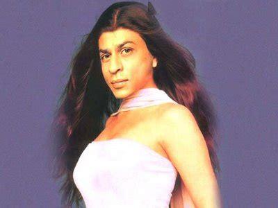 Shahrukh Khan In Girl Dress Funny Actor Amir Khan Actor Childhood
