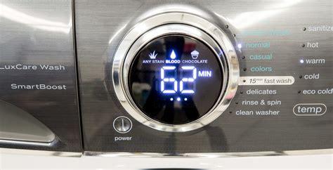 electrolux eflssiw front load lux care washing machine