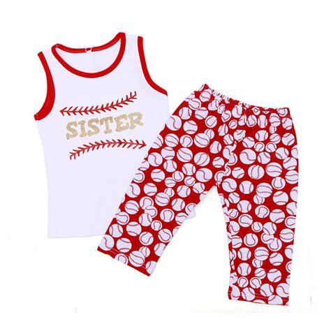 Set Baby Boy Up 15 Bulan aliexpress buy baseball boutique tank