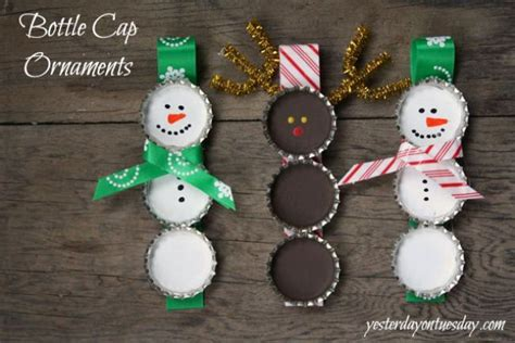 snowflake  snowman crafts  double  gifts tip