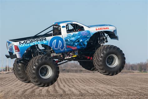 new monster truck videos mopar introduces new monster truck with 426 hemi rod