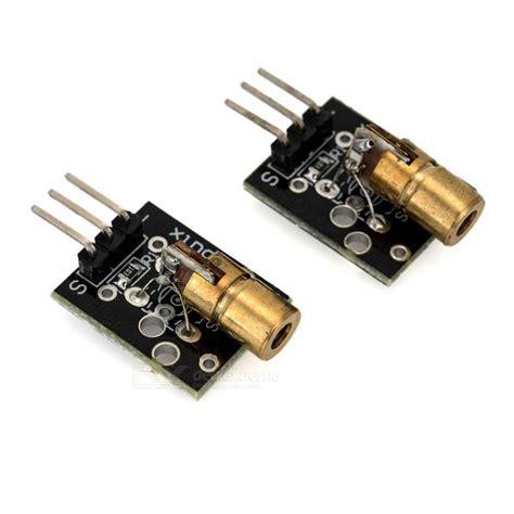 650nm laser diode module for arduino 650nm modules de diode laser pour arduino noir 2 pcs envoie gratuit dealextreme
