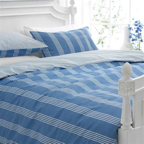 boys nautical bedding boys bedding bed linen nautical blue white stripe