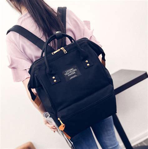 Tas Wanita Selempang Anello Handle Fashion Shoulder Bag S Size anello tas ransel canvas vintage oem black