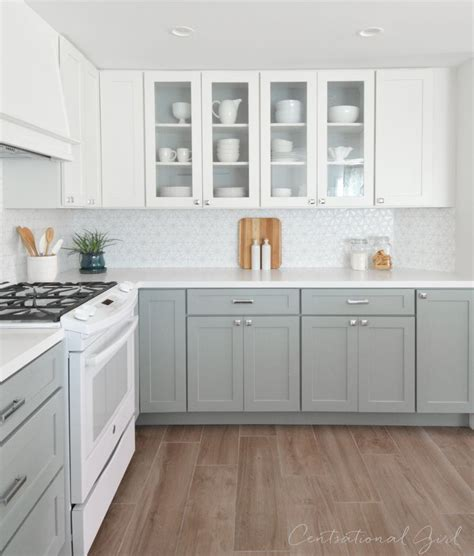 cheap white kitchen cabinets at home design concept ideas