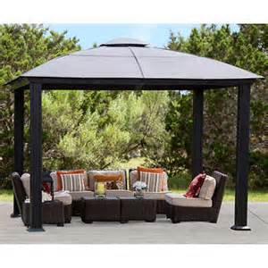 Canopy Tops For Gazebos by Siena 12 X 12 Hard Top Gazebo