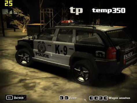 need for speed most wanted wagen nfs most wanted polzei wagen panel