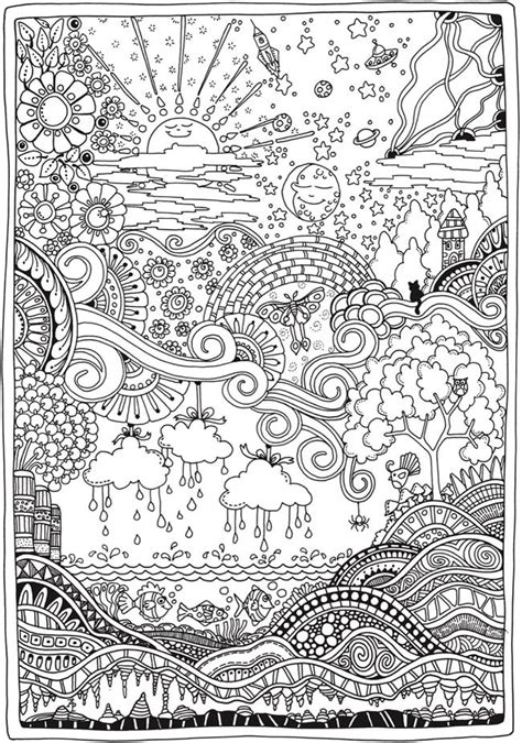 libro creative haven entangled dragonflies creative haven insanely intricate entangled landscapes coloring book coloring pages