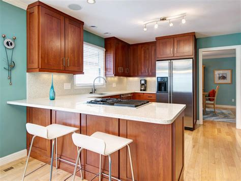 kitchen wall colors with light wood cabinets photos hgtv