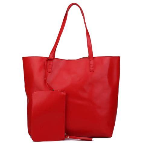 Tote Bag Big l1502 miss lulu leather look large vintage tote bag