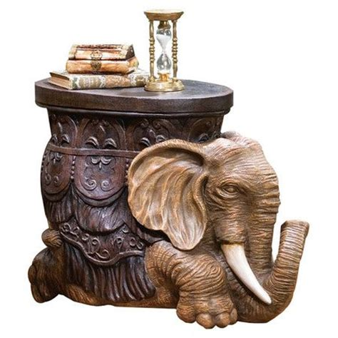 Elephant End Table by 1000 Images About Elephants Furniture On