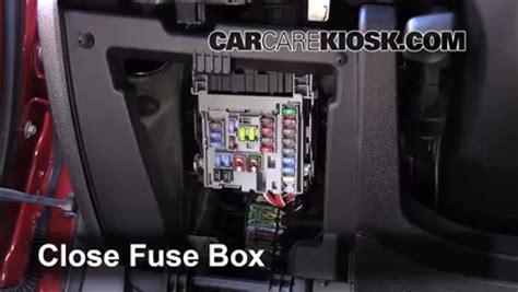 interior fuse box location: 2013 2015 chevrolet malibu