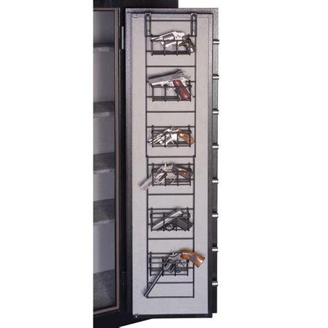 wire door organizer gun safe rack organizer 6 hand narrow full pistol wire