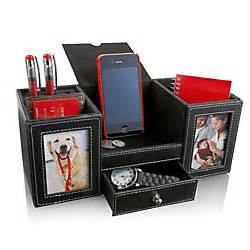 Desk Organizer With Valet Station And Photo Frames By Office Max Desk Organizer