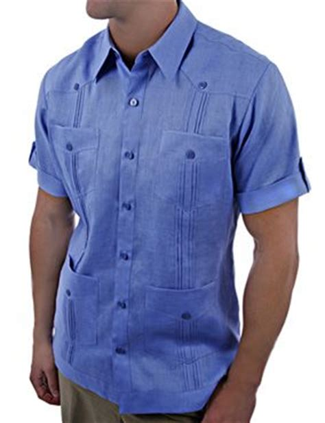 Kemeja Ricko sleeve linen guayabera shirt things i