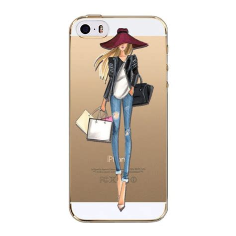 Soft Iring For Iphone 5 Iphone 6 Casing Hp Murah modern pattern soft tpu cover for iphone 5 5s 5c 5se iphone 6 6s plus