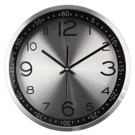 wall clock modern top quality silent vintage clock quartz metal wall clock